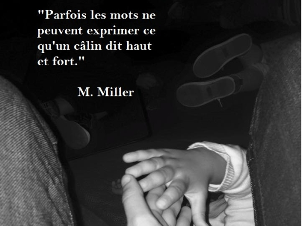 Citation câlin Mitsiko Miller